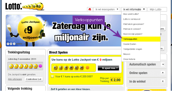 Lotto Uitslagen 30 November